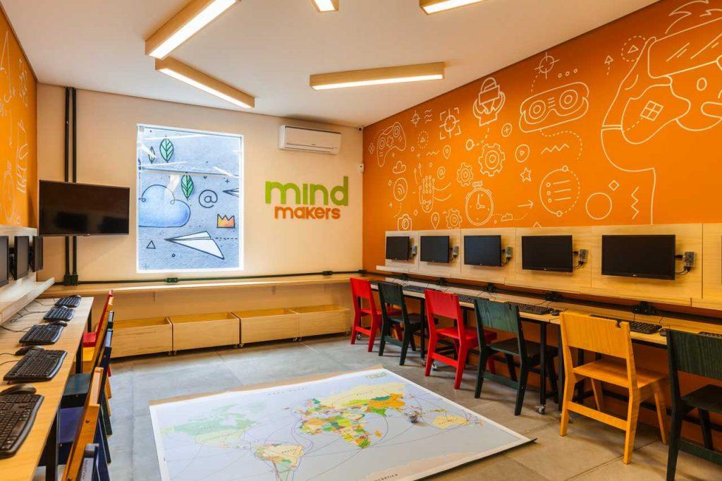 Sala de aula do Pensamento Computacional