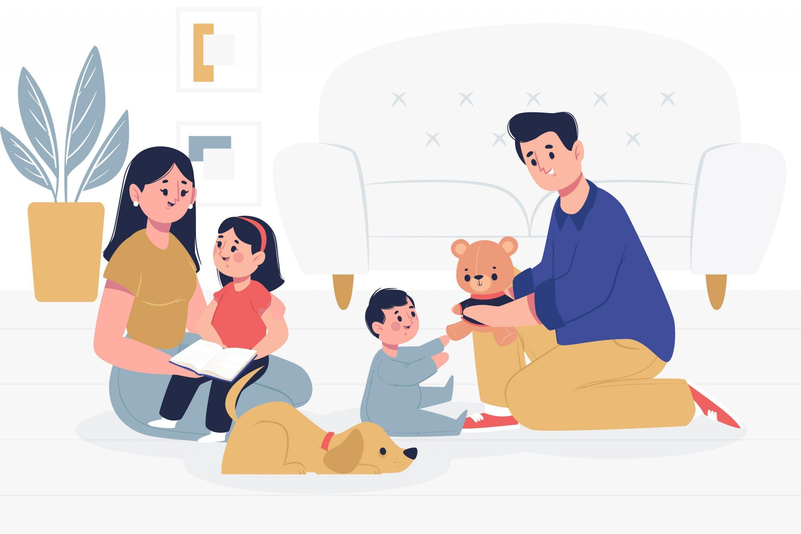 Conteúdos para a família